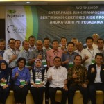 Workshop Enterprise Risk Management & Sertifikasi Certified Risk Professional Batch 2 2017 PT Pegadaian (Persero)